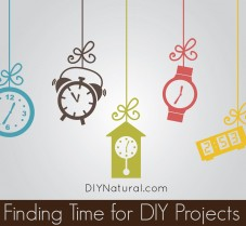 Five Ways to Find Time for DIY Natural Projects