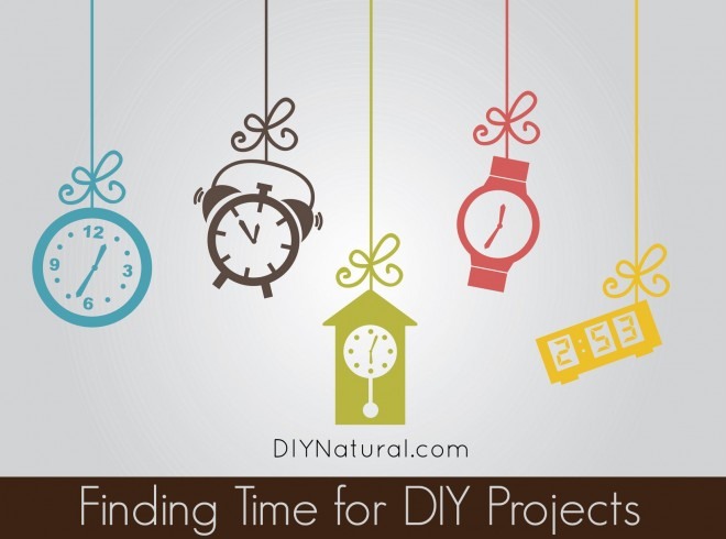 Finding Time For DIY