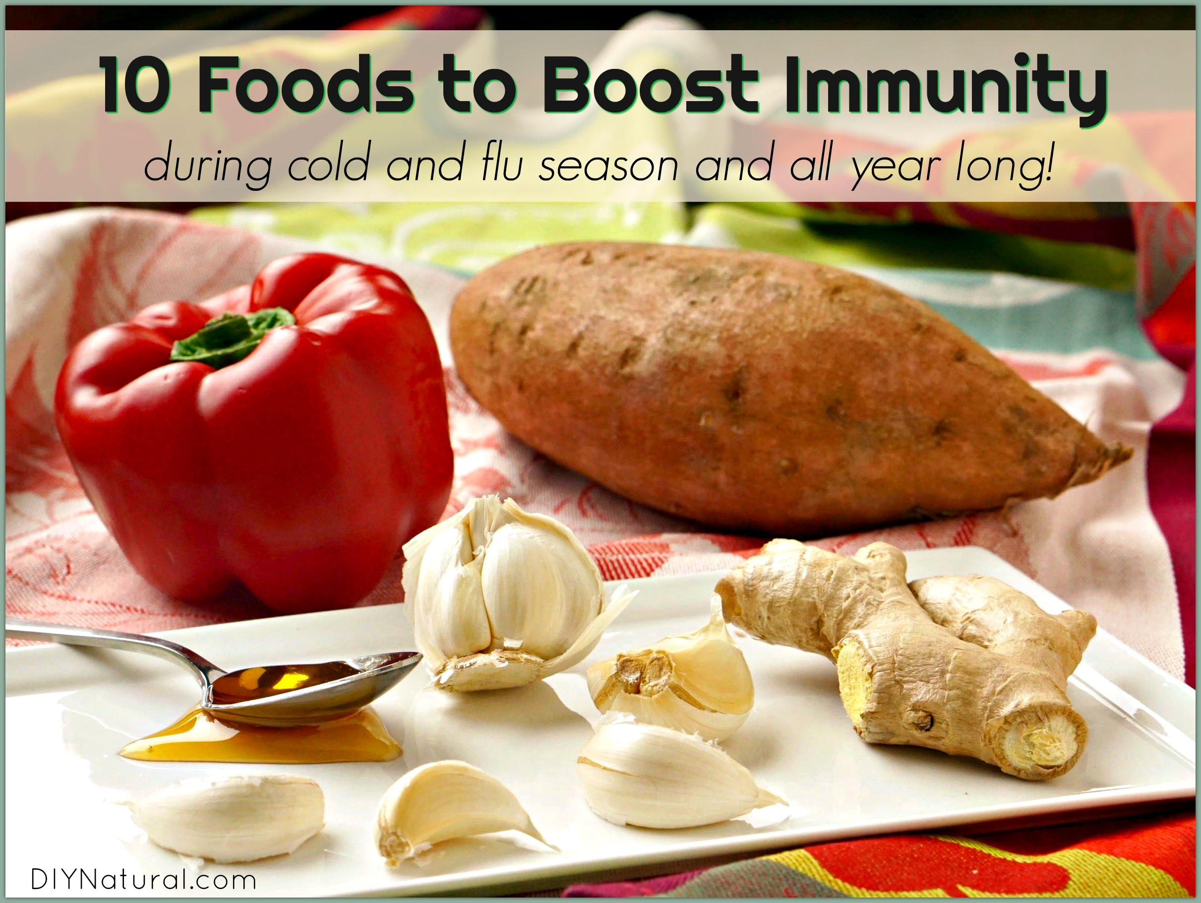 Foods To Boost Immune System Function During Cold And Flu