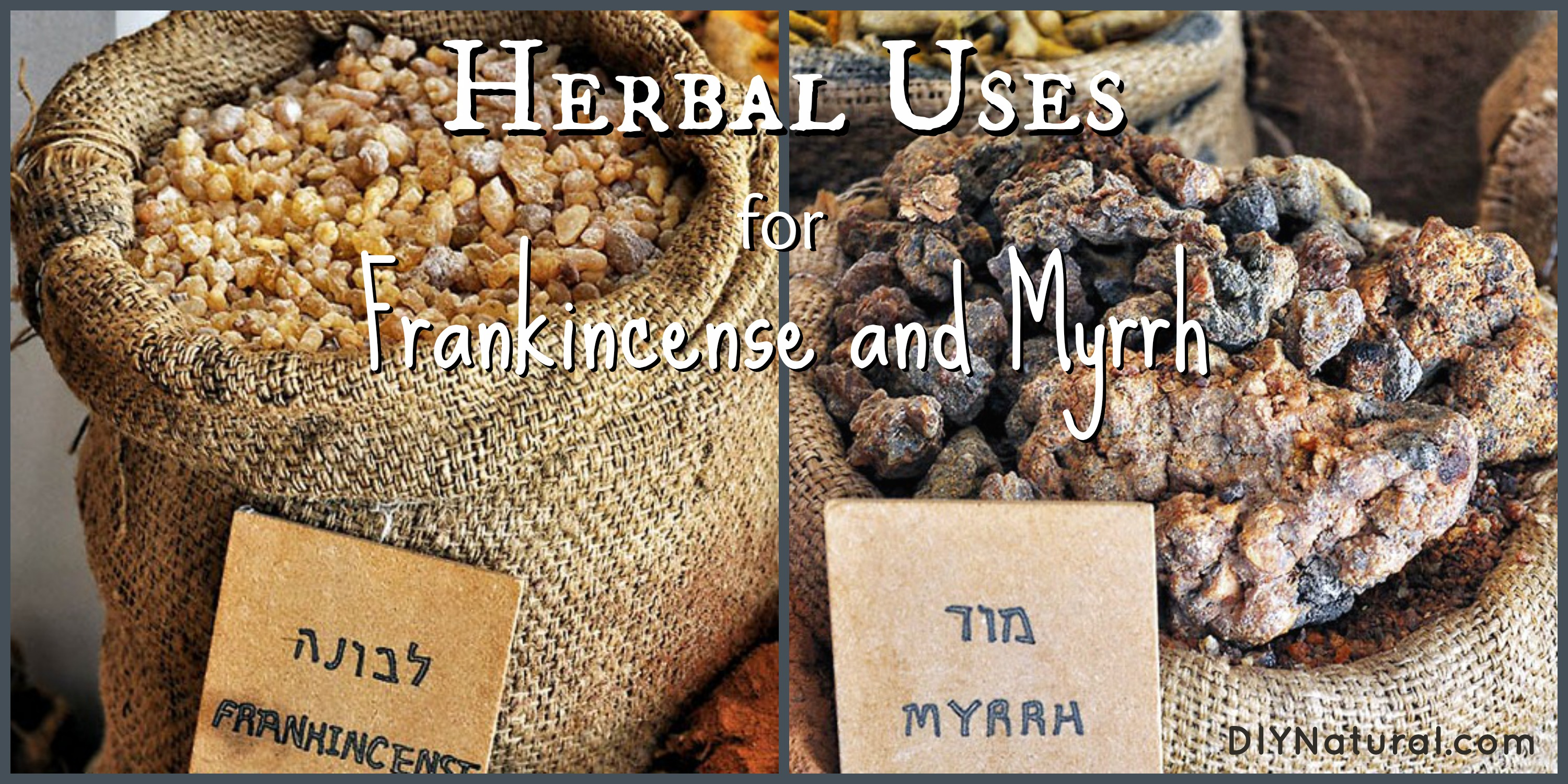 Resins of Frankincense And Myrrh Frankincense And Myrrh And