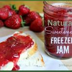 How to Make Naturally Sweetened Freezer Jam