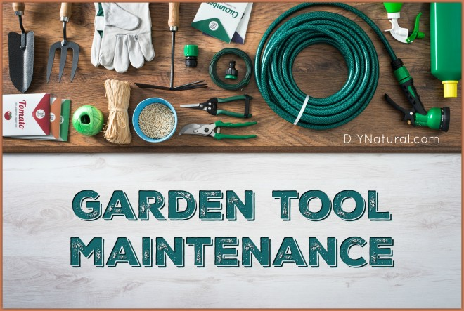 Garden tool maintenance a spring garden tool checkup for Garden maintenance tools