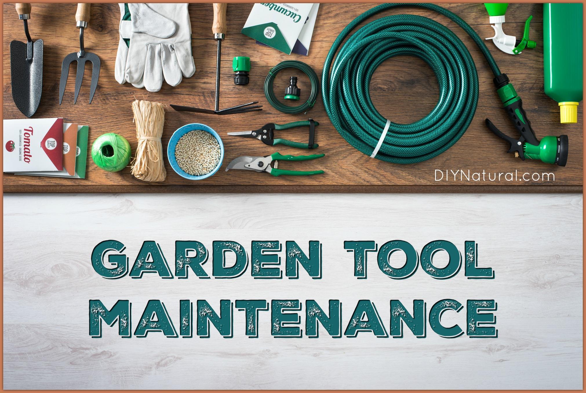 garden tool maintenance a spring garden tool checkup