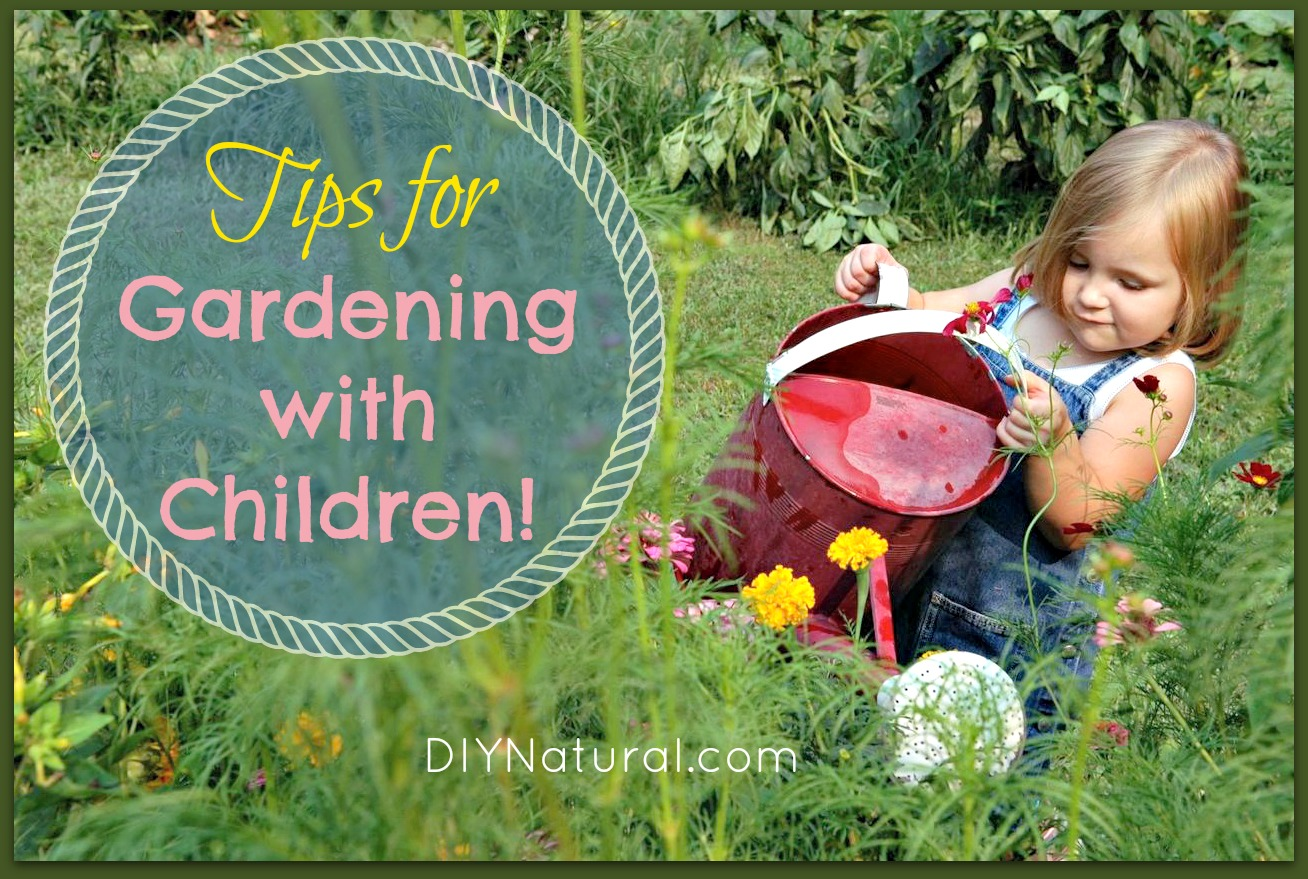 Garden With Children Tips To Get Kids Interested in Gardening