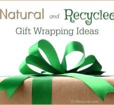 Natural and Recycled Ways To Package DIY Gifts