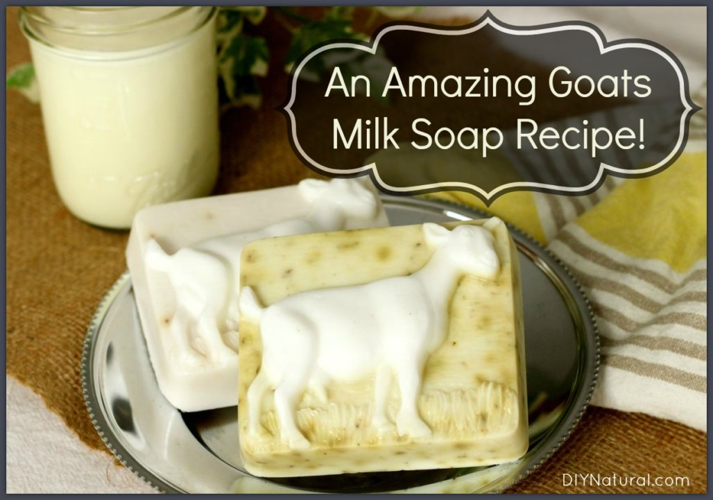How Make Goats Milk Soap At Home