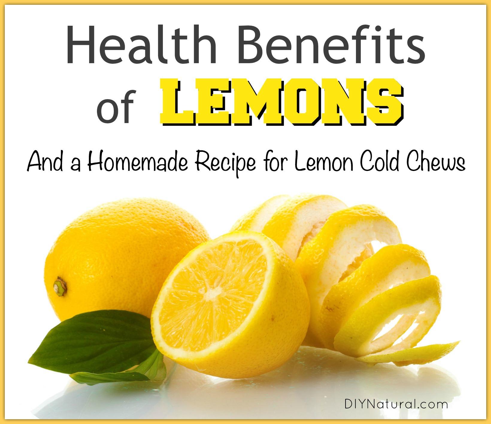 When Gives Lemons Benefits Running: Health Benefits Of Lemons & Homemade Lemon Cold Chews