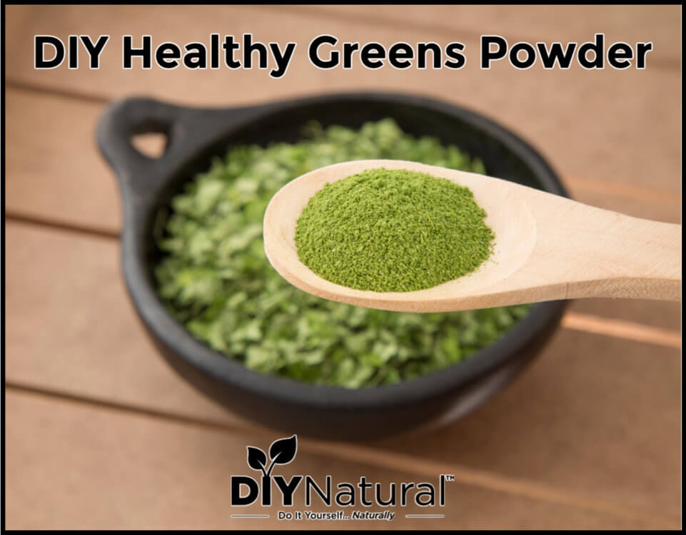 Dehydrate Your Greens Into A Powdered Superfood