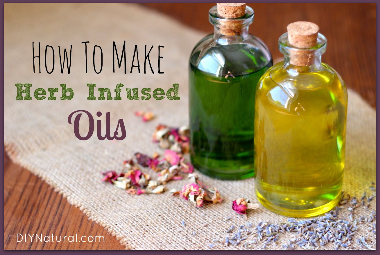 how to make essential oils from herbs