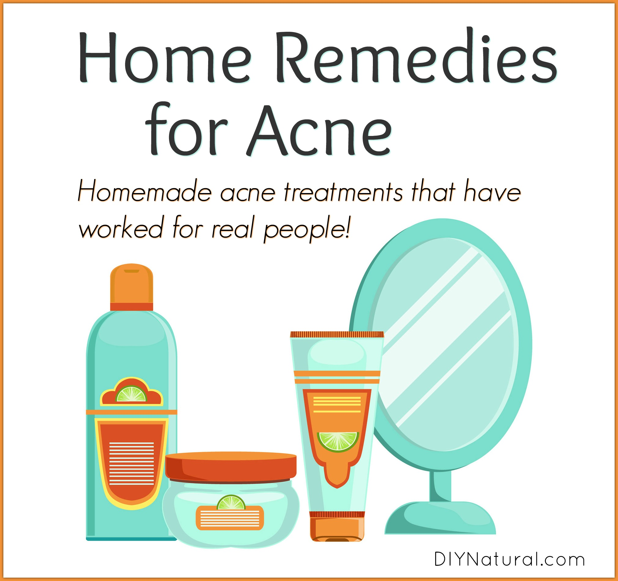 Home Remedies For Acne A Homemade Acne Treatment That Works