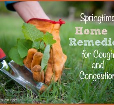 Home Remedies for Springtime Coughs & Congestion