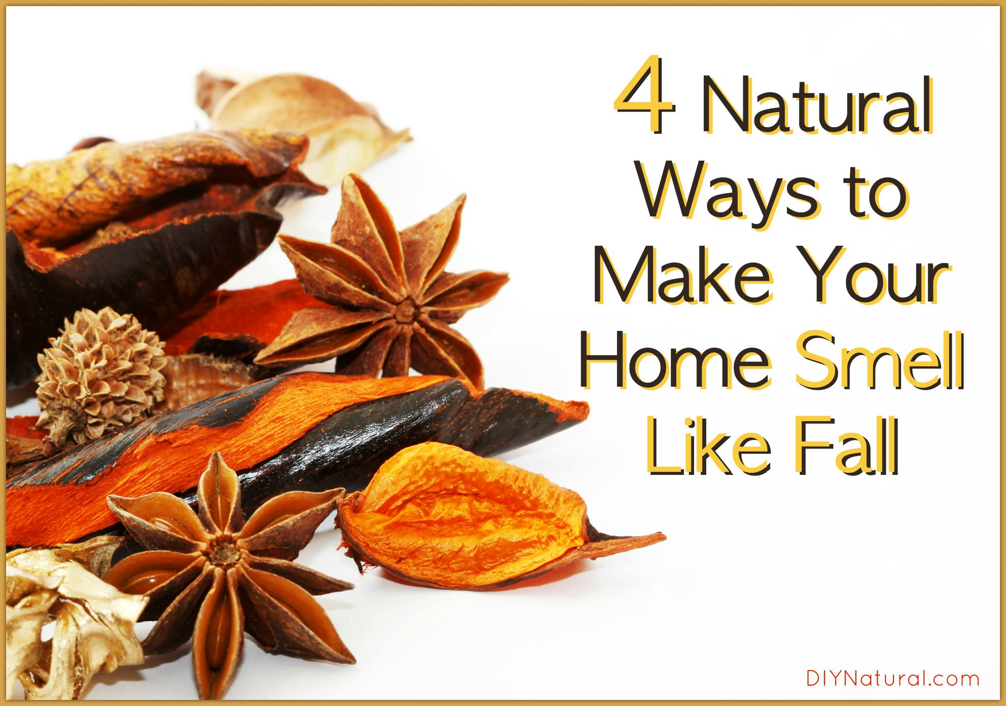 Fall Scents 4 Natural Air Freshening Recipes For Autumn