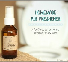 Homemade Air Freshener: A Natural Poo-Pourri Spray
