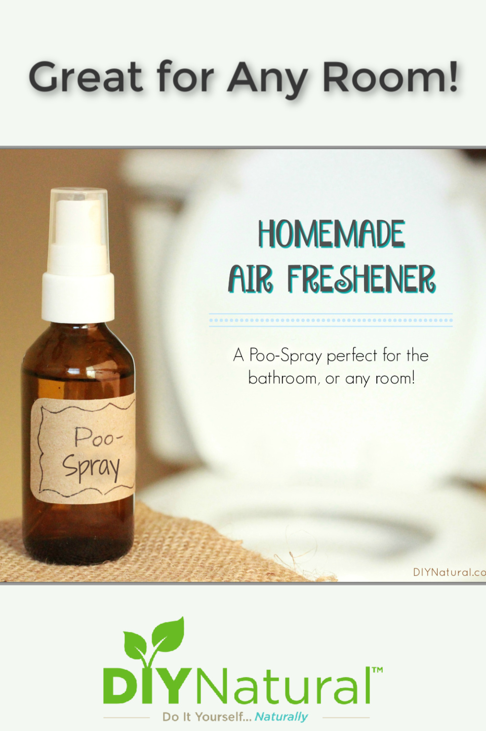 Air Freshener: A Natural DIY Poo-Spray