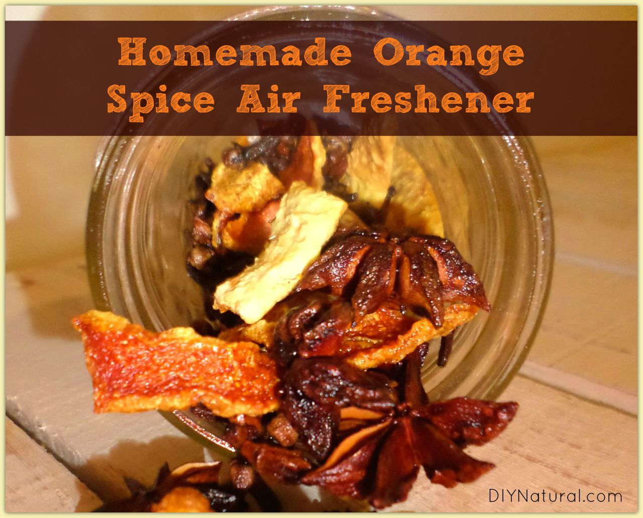 homemade air freshener a natural orange spice recipe