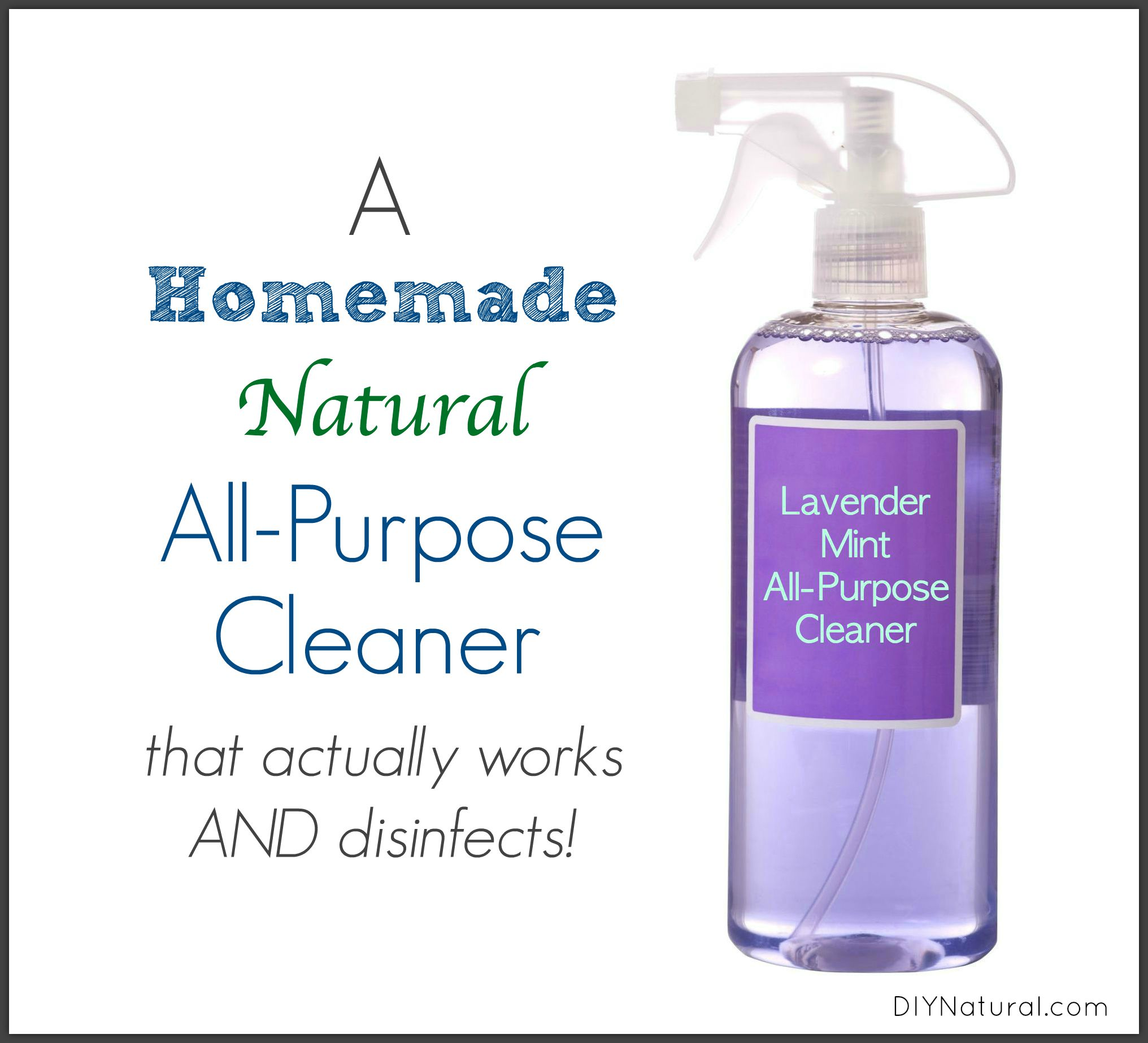 Homemade All Natural Home Cleaners
