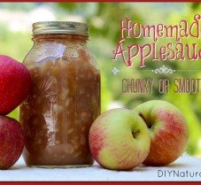 Make Homemade Applesauce Chunky or Smooth