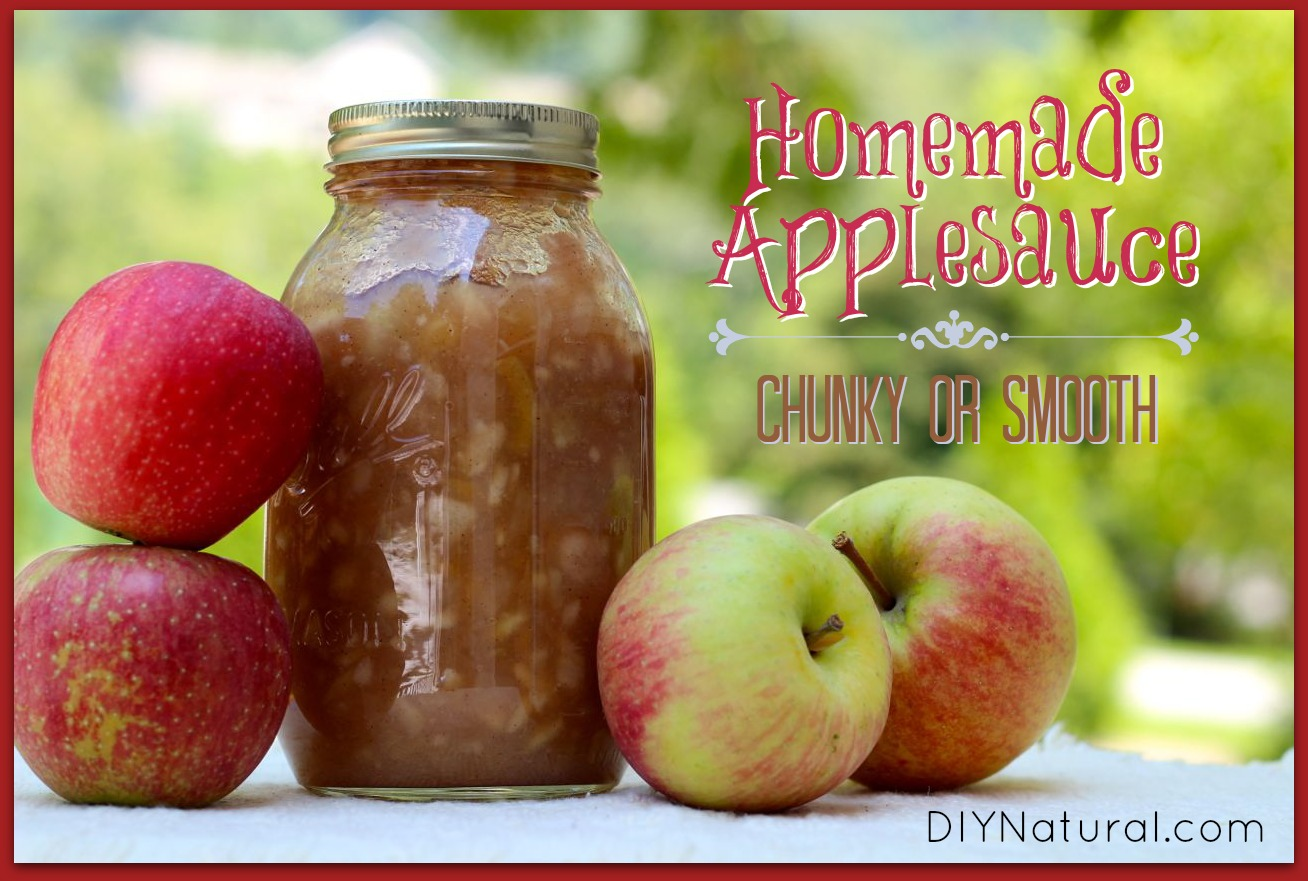 Chunky Applesauce Recipe For Canning