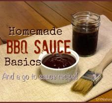 Homemade BBQ Sauce Basics and A Yummy Recipe