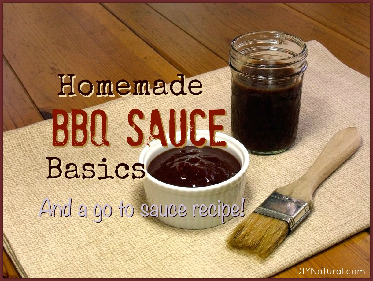 how to make homemade barbecue sauce recipe