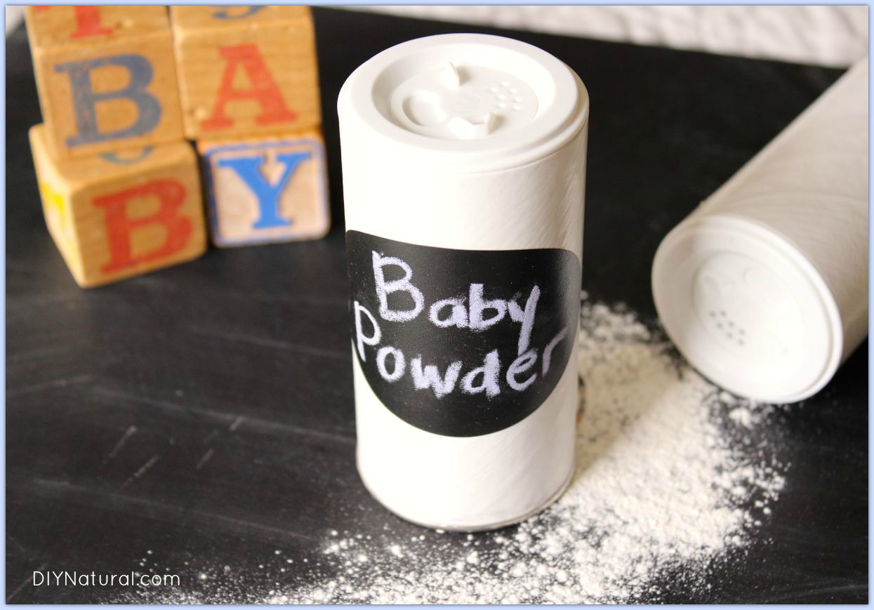 Homemade Baby Powder 1