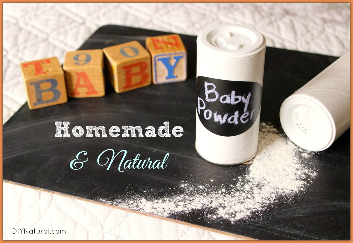 Homemade Natural Baby Powder Diy Natural