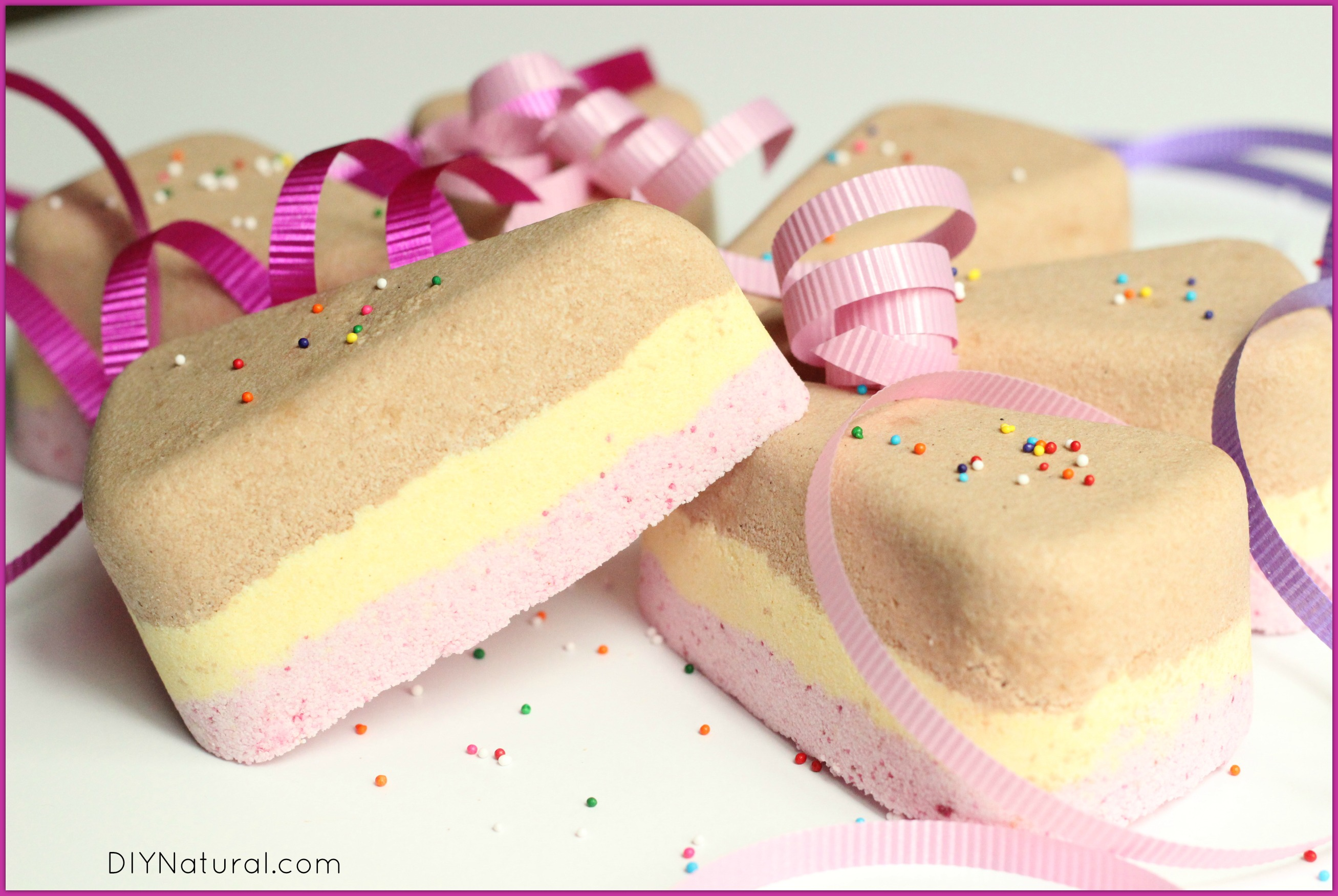 Birthday Cake Bath Bomb Recipe 2