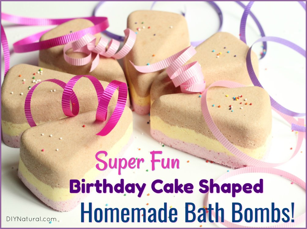 Birthday Cake Bath Bomb Recipe