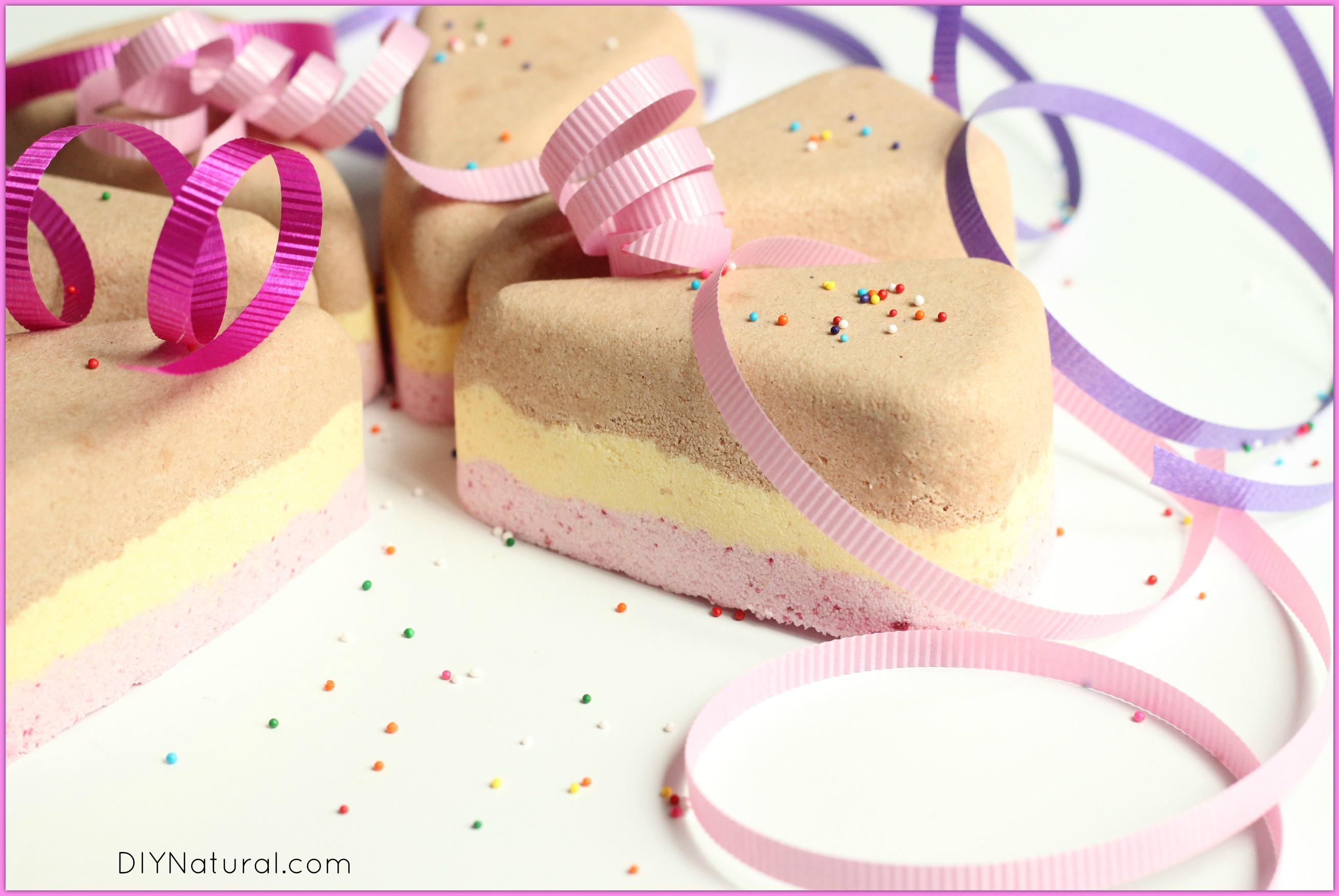 Birthday Cake Bath Bomb Recipe 3