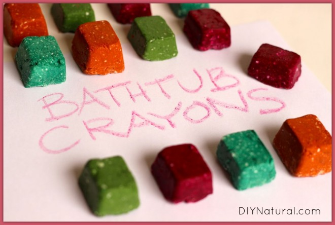 Homemade Bath Crayons 4