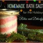 Homemade Holiday Bath Salts: Relax and Detoxify!