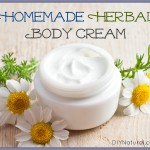 How to Make an Herbal Body Cream