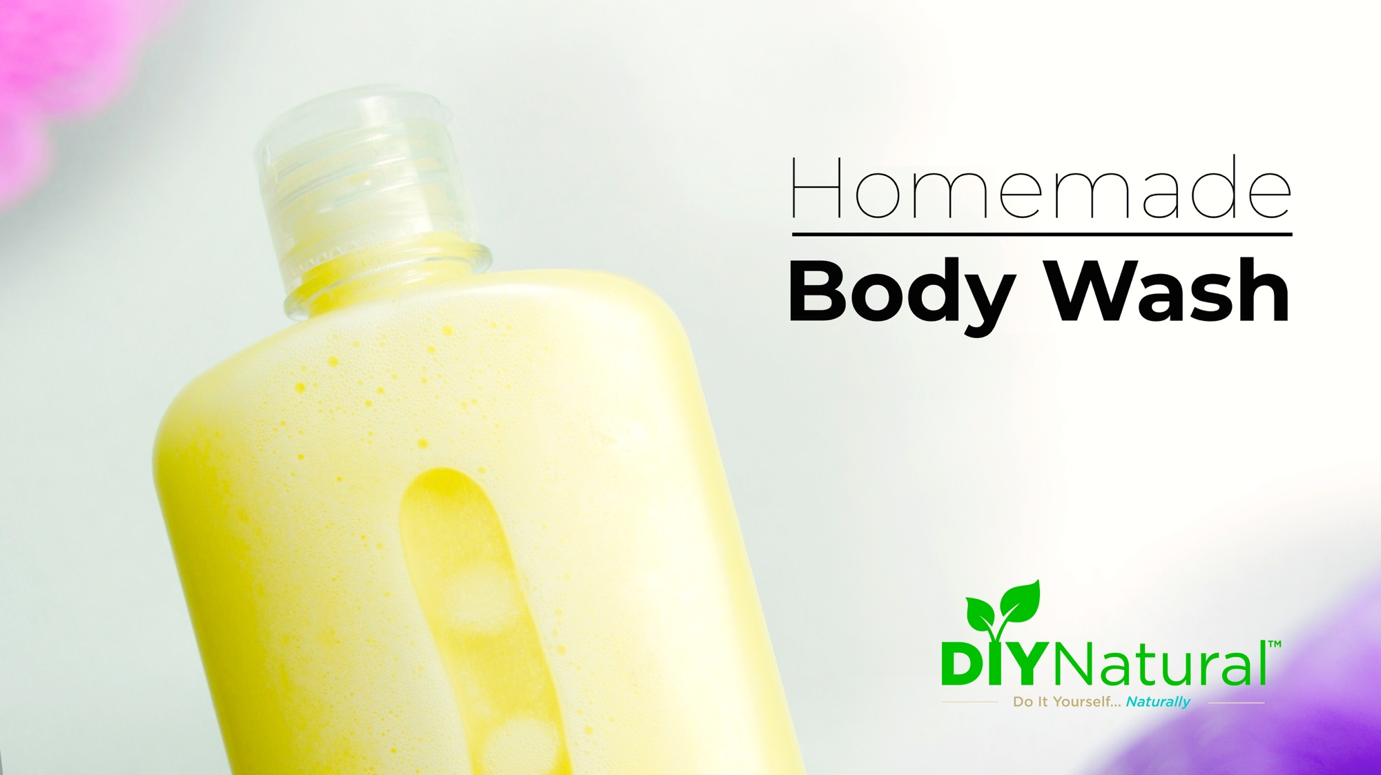 A Natural & Moisturizing DIY Body Wash