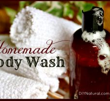 Homemade Body Wash That is Natural & Moisturizing