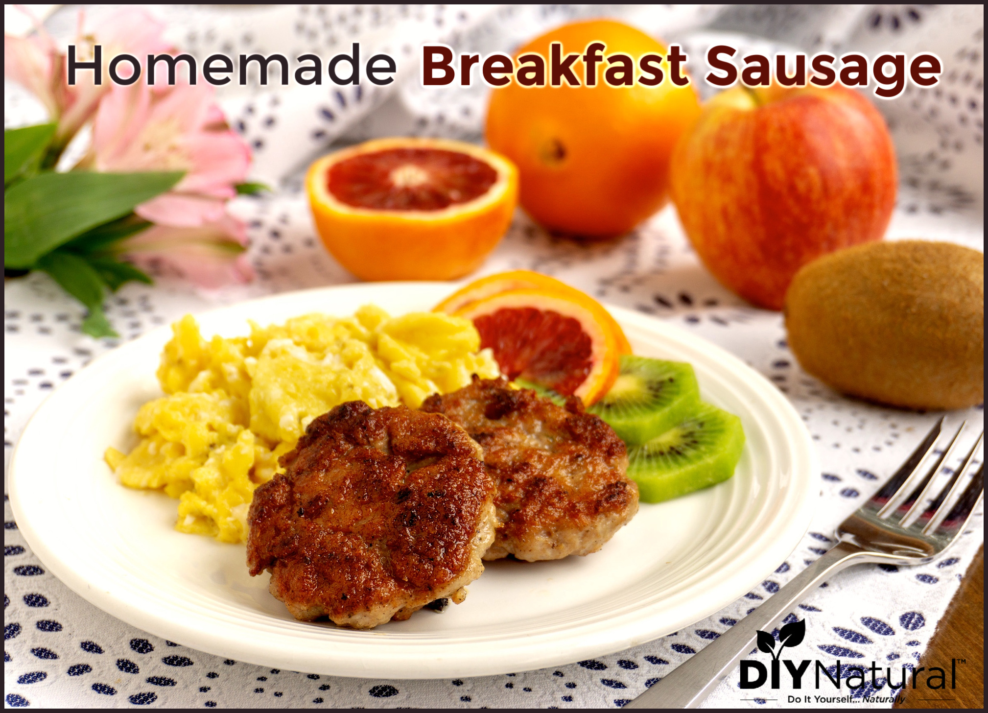 Homemade Breakfast Sausage Recipe