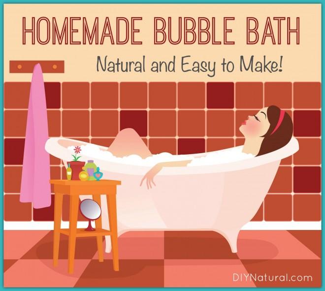 Homemade Bubble Bath