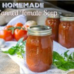 Homemade Canned Tomato Soup Recipe