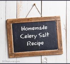 A Quick and Easy Homemade Celery Salt Recipe