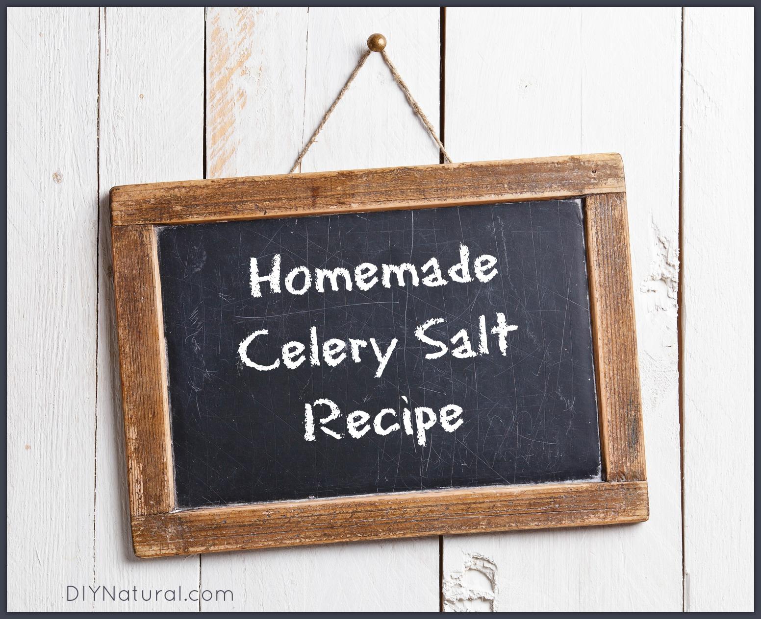 Homemade Celery Salt Recipe: A Quick and Easy Method