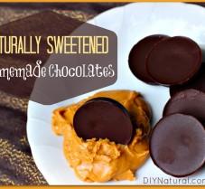 How to Make Naturally Sweetened Chocolates