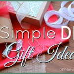 Simple Natural Gifts to Give for the Holidays