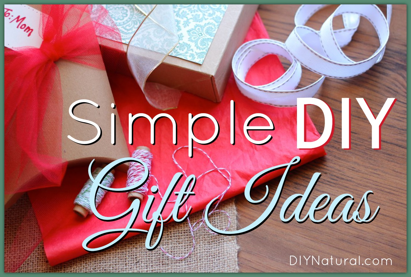 Homemade Christmas Gift Ideas - Many Natural Recipes