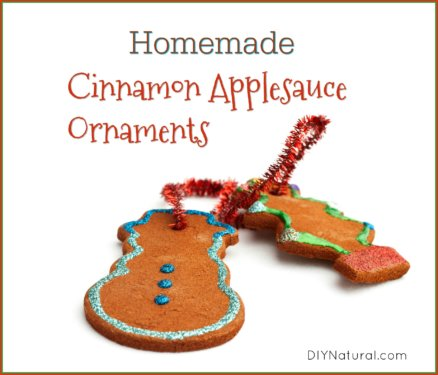Homemade Cinnamon Applesauce Ornaments