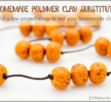 Make Your Own Natural Polymer Clay Substitute