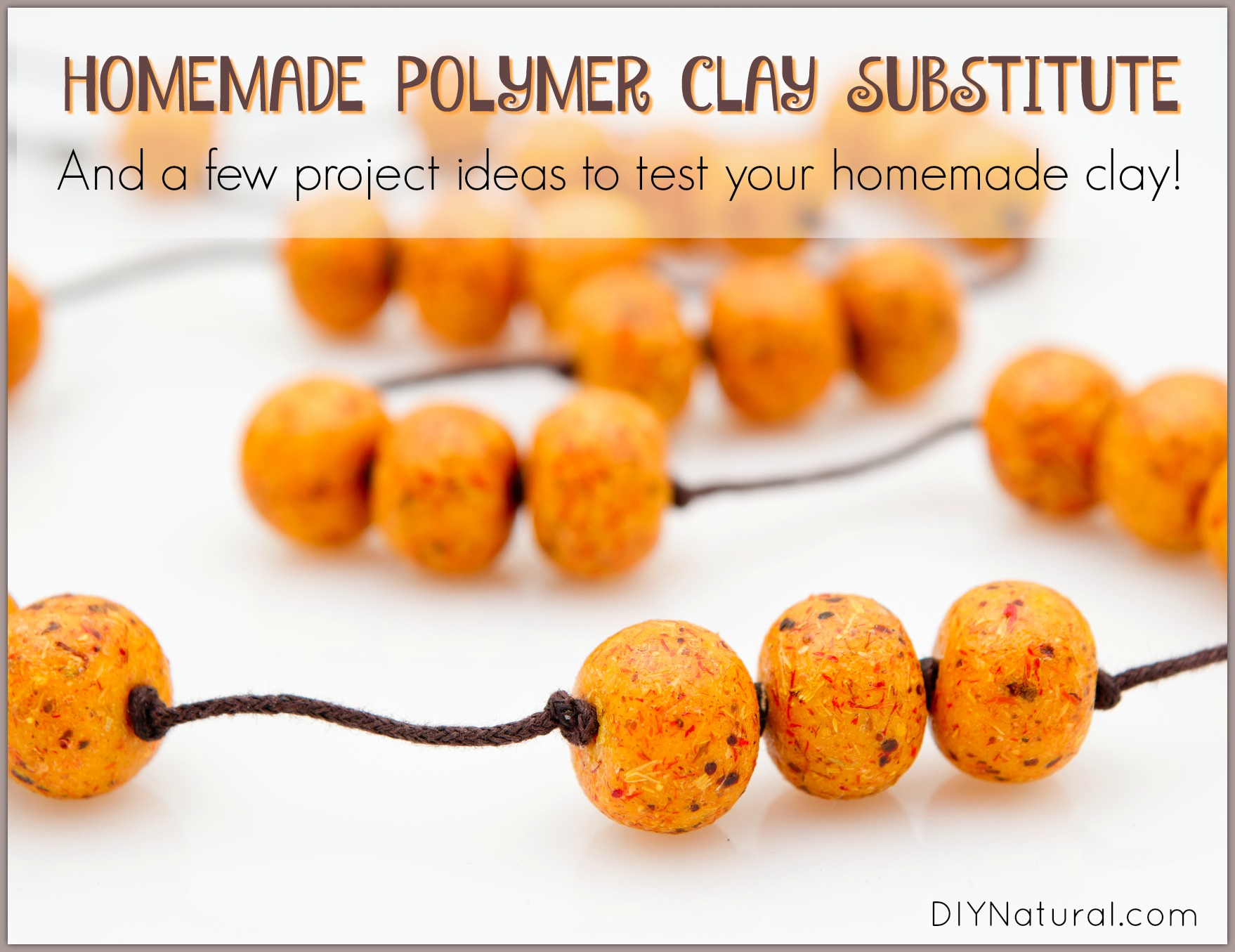 Clay and Homemade Polymer Clay Ideas