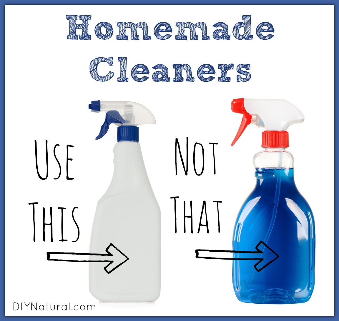 Homemade Cleaners - Use This Not That Spotlight