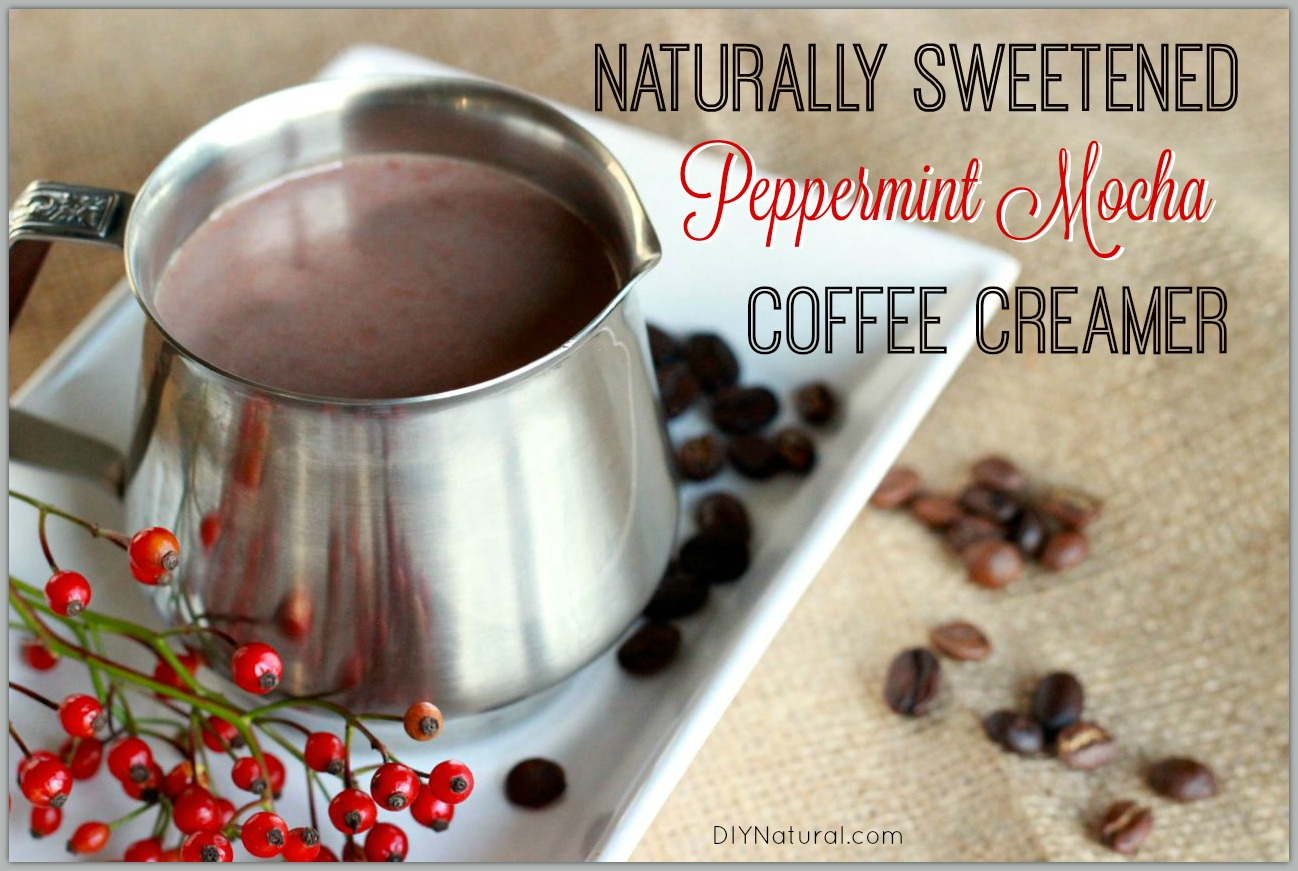 homemade coffee creamer: a naturally sweetened treat