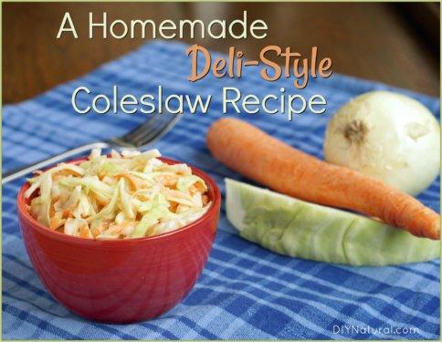 Homemade Coleslaw Recipe Yogurt