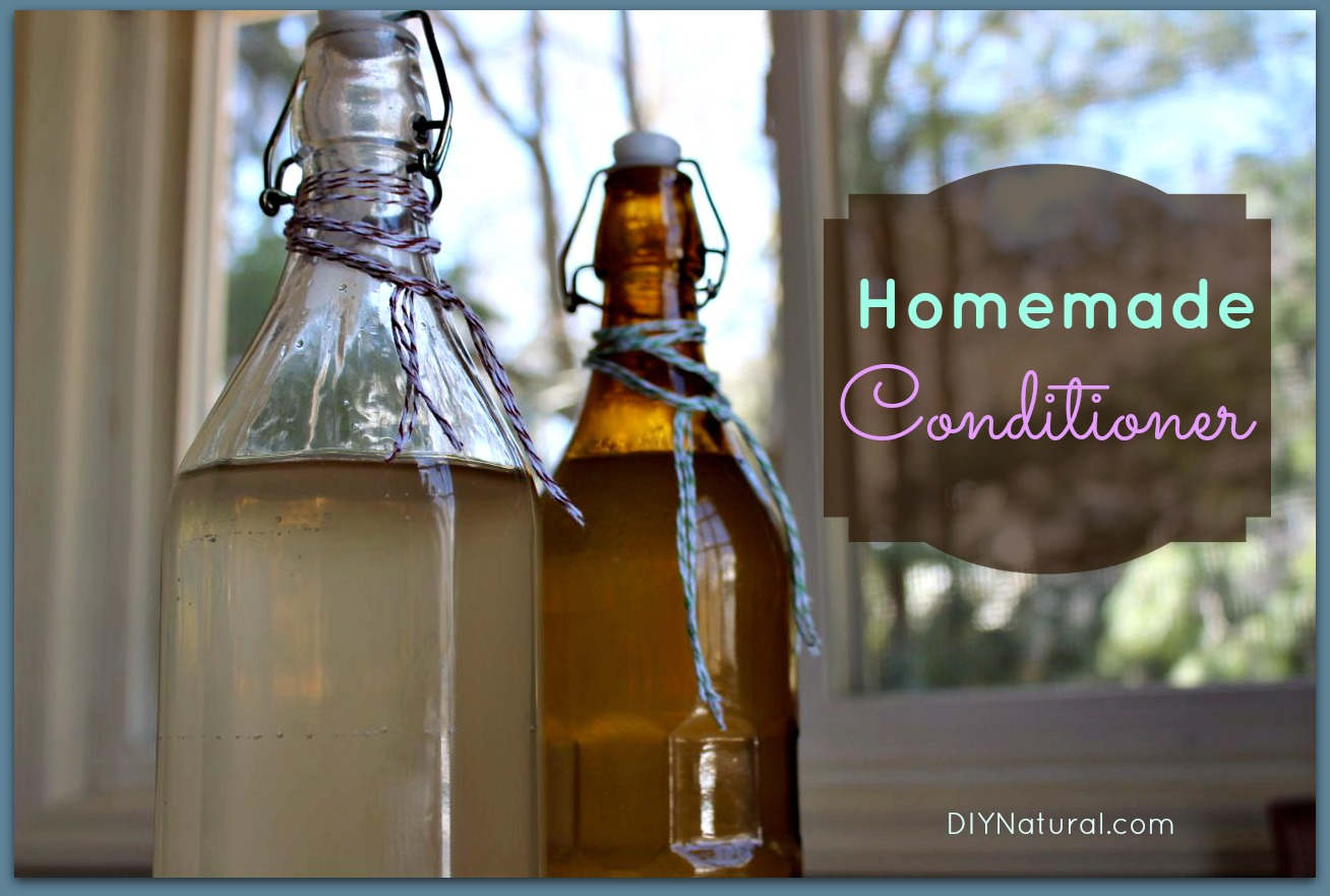 Easy homemade shampoo and conditioner recipes