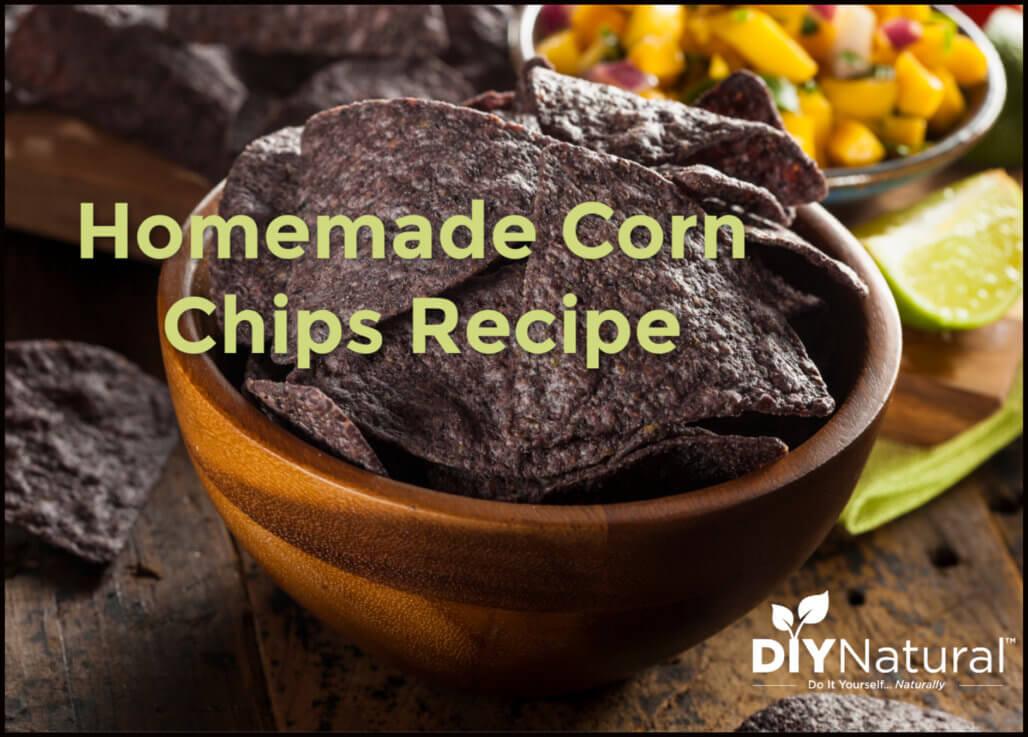 Homemade Corn Chips Recipe